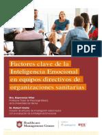 Factores Clave de La Inteligencia Emocional en Directivos de Organizaciones Sanitarias