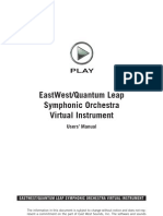 EWQL Orchestra Manual