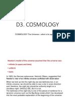 D3 Cosmology