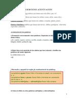 Ejercicios de Acentuacic3b3n Fc3a1ciles1(1)