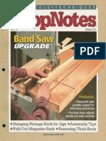 Shopnotes #51 (Vol. 09) - Band Saw Upgrade