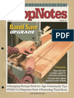 Shopnotes #51 (Vol. 09) - Band Saw Upgrade