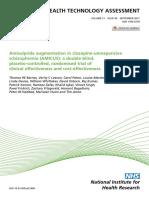 Amisulpride augmentation in clozapine-unresponsive schizophrenia (AMICUS)