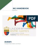 bsme swimming handbook 2018