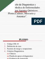 Protocolo de Diagnostico METALES PESADOS
