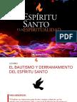 Biblelieve Lección 5 - El Bautismo y El Derramamiento Del Espíritu Santo