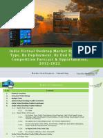 India Virtual Desktop Market Forecast and Opportunities, 2022_Brochure