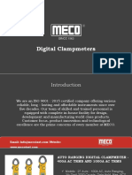 Digital Clampmeaters - Mecoinst