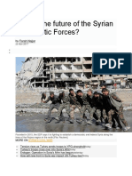 What is the Future of the Syrian Democratic Forces