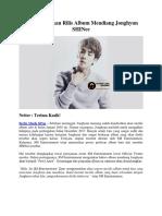 SM Resmi Akan Rilis Album Mendiang Jonghyun SHINee
