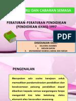 275425181 Peraturan Peraturan Pendidikan Pendidikan Khas 1997 Edu3093