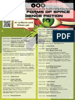 5th Annual Science Fiction Symposium - Primer