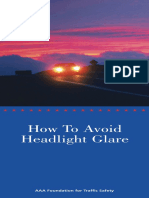 Headlight Glare Brochure