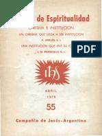 Bergoglio - Una Institucion que vive su Carisma.pdf