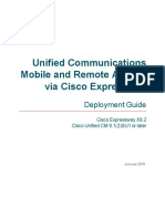 Mobile Remote Access via Expressway Deployment Guide X8 2
