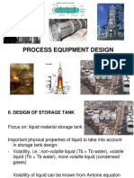 Design of Storage Tank