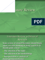 5- Doing Literature Review