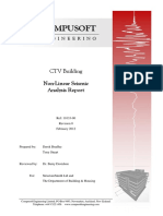 CTV NonLinear Seismic Analysis Report