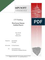 CTV NonLinear Seismic Analysis Report