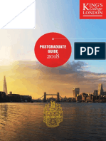 King's College London - Postgraduate Guide