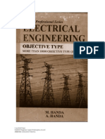 Electrical Engineering Objective Type