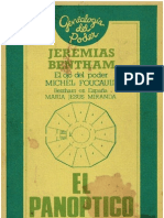 27185210 Jeremias Benthan El Panoptico