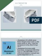 Proses Pembuatan Aluminium