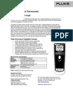 272 Fluke 65 Data Sheet