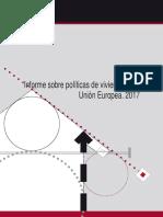 Informe sobre políticas de vivienda en la Unión Europea. 2017