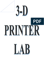 3- D PRINTER LAB