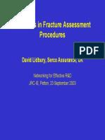 Fracture Assesment