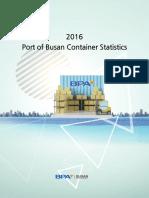 2016 Busan Container Statistics