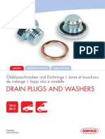Corteco Drain Plugs and Washers Catalogue Corteco