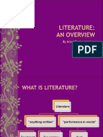 Meeting 1 - Literature an Overview