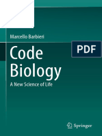 Barbieri, M. (Auth.) (2015) Code Biology. a New Science of Life