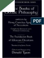 Three Books of Occult Philosophy - Copy