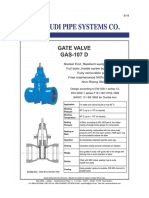 Gate Valve-GAS 107D