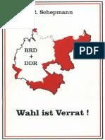 Schepmann Richard Wahl Ist Verrat