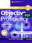 Objective Proficency Student Book with Answers 2nd Edition