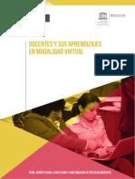 Docentes y Sus Aprendizaje Modalidad Virtual