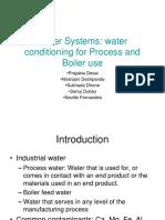 Boiler Water Treatment -