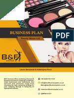 Model Plan Afaceri Coafura Frizerie