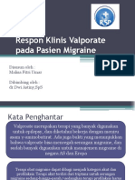 Respon Klinis Valporate Pada Pasien Migrain