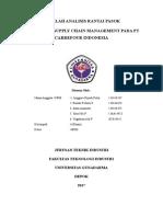 Penenerapan SCM Pada PT Carrefour Indonesia