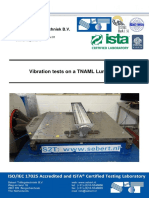 Vibration Test Report According to IEC 60068 3-3-1991 Level 3