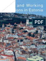 Living and Working Conditions in Estonia (en)