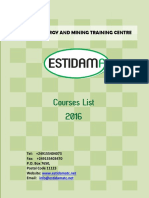 Estidama Training Programs 2016