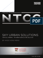 20. Sky Urban Solutions - Vertical Farming - An Urban Agriculture Solution