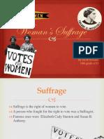 Women Suffarage