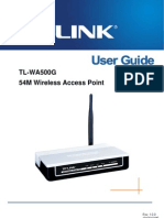 TL-WA500G User Guide